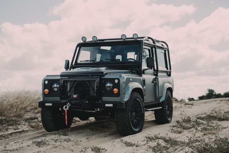 Project Millenium Falcon Land Rover Defender 12 740x494 - Project Millenium Falcon - 430 HP Land Rover Defender