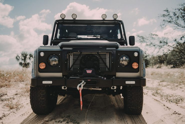 Project Millenium Falcon Land Rover Defender 15 740x494 - Project Millenium Falcon - 430 HP Land Rover Defender