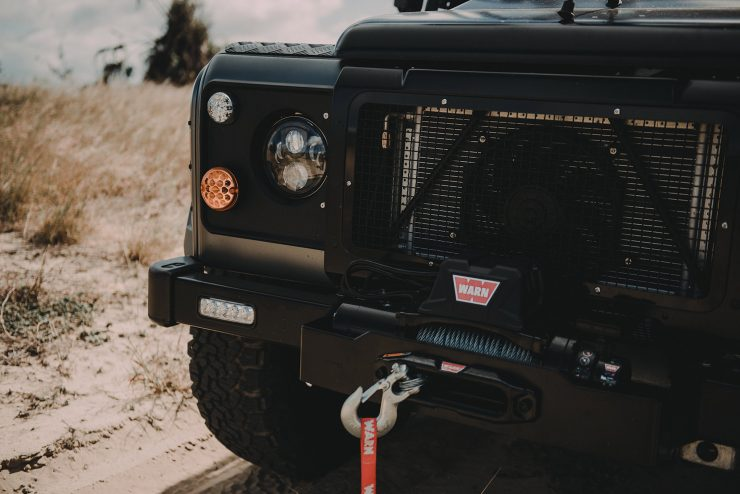 Project Millenium Falcon Land Rover Defender 2 740x494 - Project Millenium Falcon - 430 HP Land Rover Defender