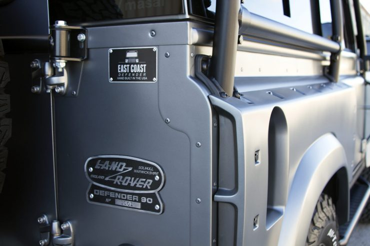 Project Millenium Falcon Land Rover Defender 4 740x493 - Project Millenium Falcon - 430 HP Land Rover Defender