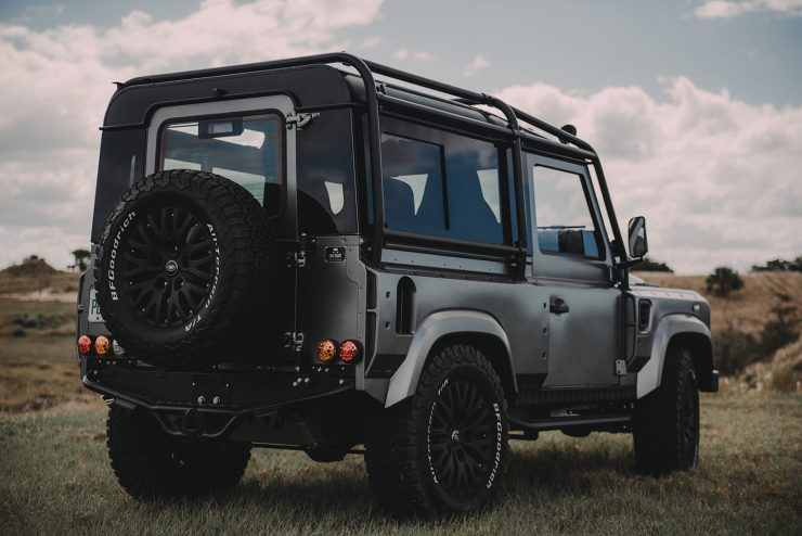 Project Millenium Falcon Land Rover Defender 5 740x494 - Project Millenium Falcon - 430 HP Land Rover Defender