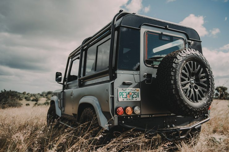 Project Millenium Falcon Land Rover Defender 6 740x494 - Project Millenium Falcon - 430 HP Land Rover Defender