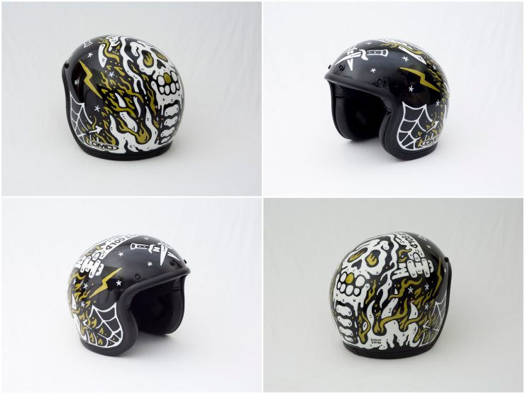 Sandy Sinn 740x555 - Twenty / 20 Helmet Art Exhibition