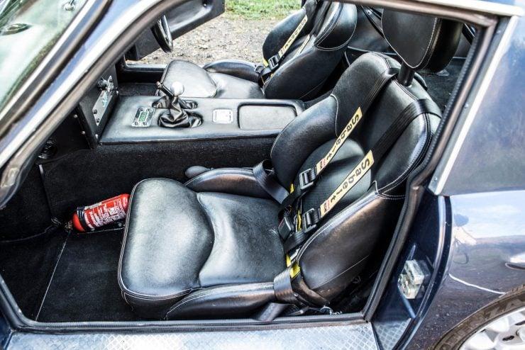 TVR Vixen 2500 Car Interior 3 740x494 - 1971 TVR Vixen 2500