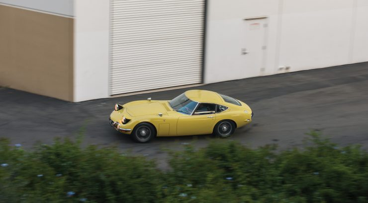Toyota 2000GT 11 740x409 - The Rare Toyota 2000GT