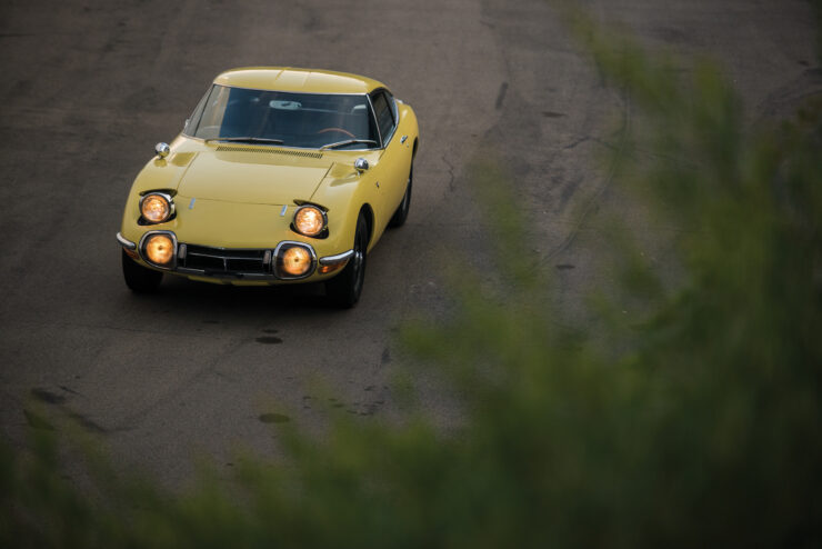 Toyota 2000GT 20 740x494 - The Rare Toyota 2000GT