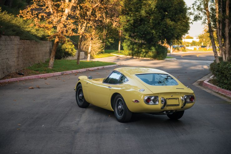 Toyota 2000GT 6 740x494 - The Rare Toyota 2000GT