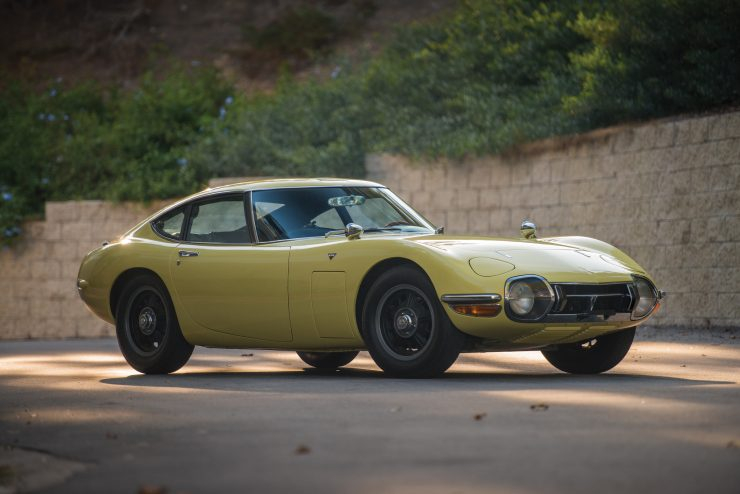 Toyota 2000GT 740x494 - The Rare Toyota 2000GT