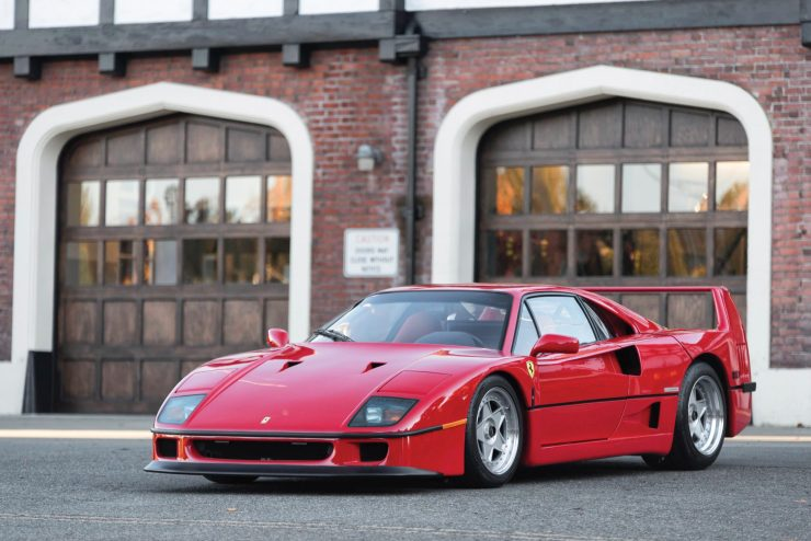 ferrari f40 car 1 740x494 - 1990 US-Spec Ferrari F40