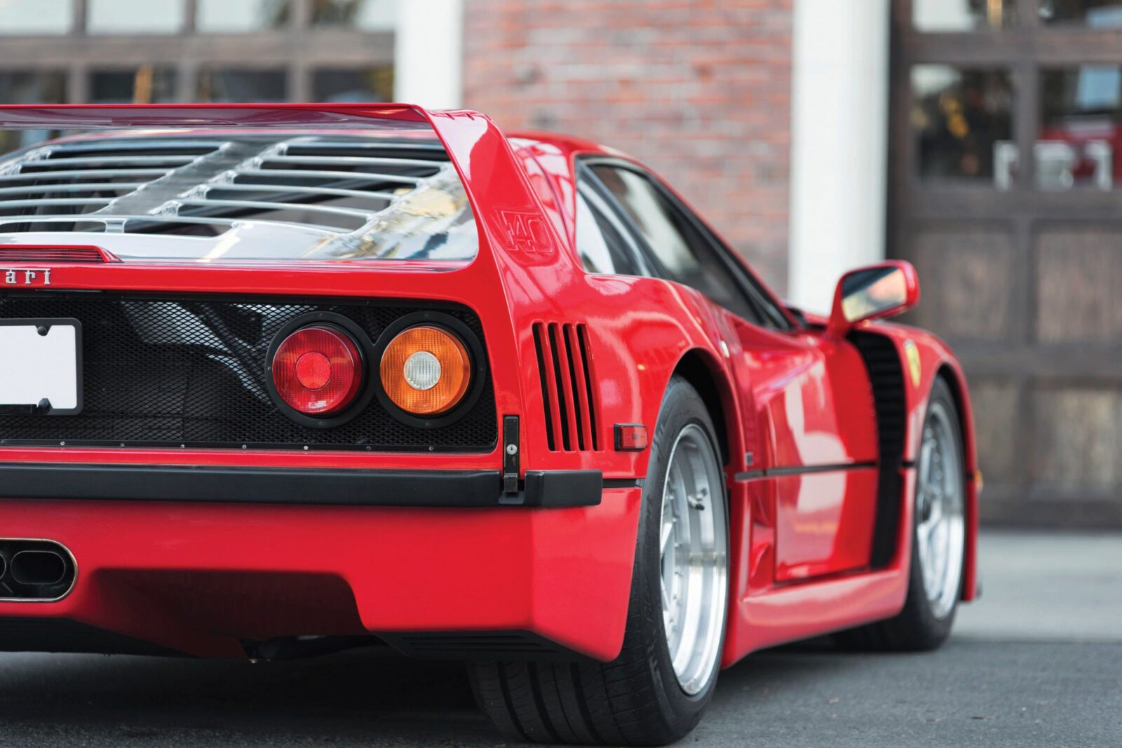 ferrari f40 car 13 1600x1067 - 1990 US-Spec Ferrari F40
