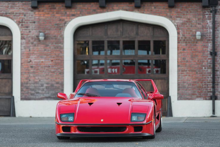 ferrari f40 car 18 740x494 - 1990 US-Spec Ferrari F40