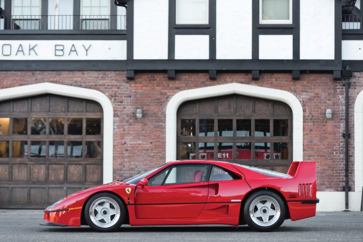 ferrari f40 car 6 740x494 - 1990 US-Spec Ferrari F40