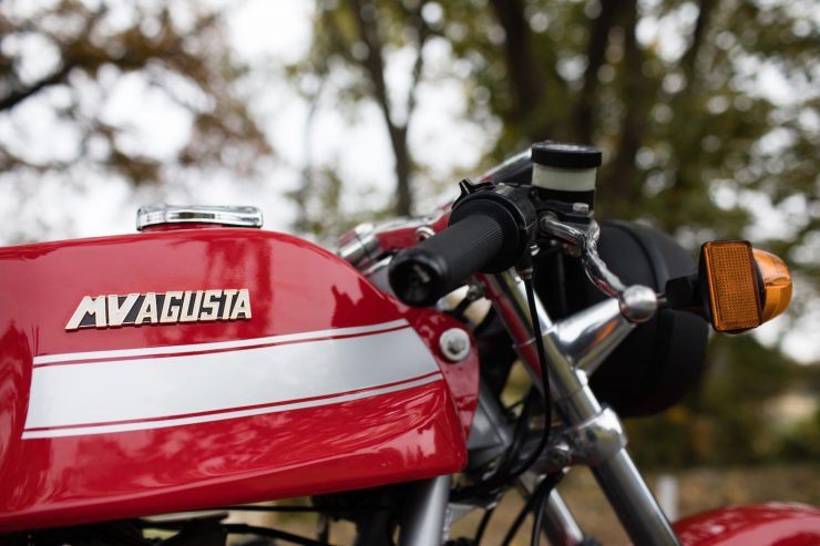 mv agusta 750s america 12 740x493 - The Rare MV Agusta 750S America