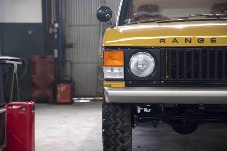range rover classic 1 740x493 - 1973 Range Rover Classic