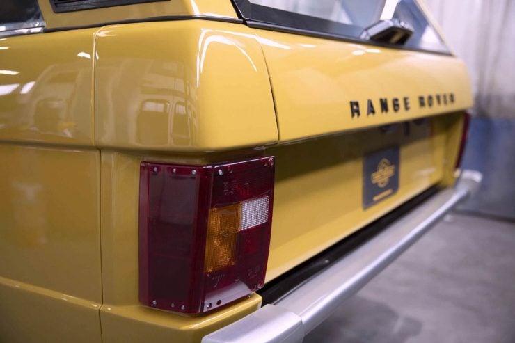 range rover classic 10 740x493 - 1973 Range Rover Classic