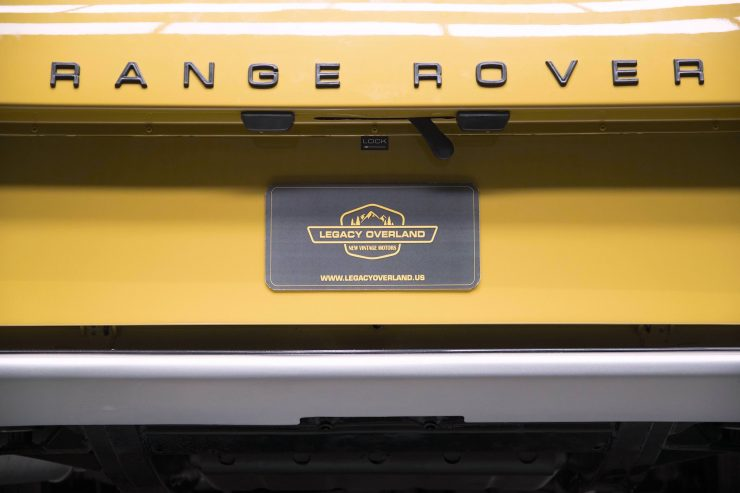 range rover classic 8 740x493 - 1973 Range Rover Classic