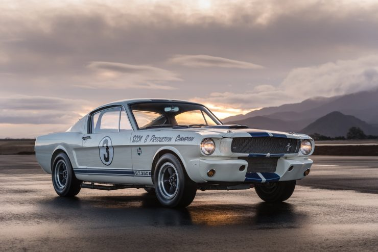 shelby mustang gt350 r car 25 740x494 - Cobra Caravan Survivor: 1965 Shelby GT350 R