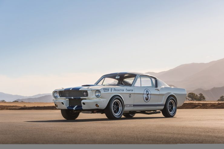shelby mustang gt350 r car 6 740x494 - Cobra Caravan Survivor: 1965 Shelby GT350 R