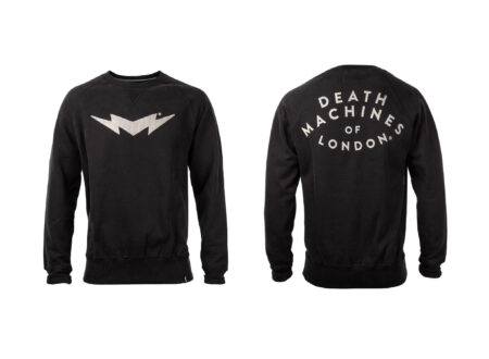Death Machines Of London Bolt Sweater Main 450x330 - Death Machines Of London Bolt Sweater