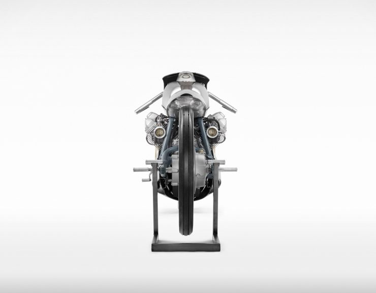 Death Machines of London Airforce Moto Guzzi Custom Motorcycle 1 740x577 - Death Machines of London Airforce Moto Guzzi