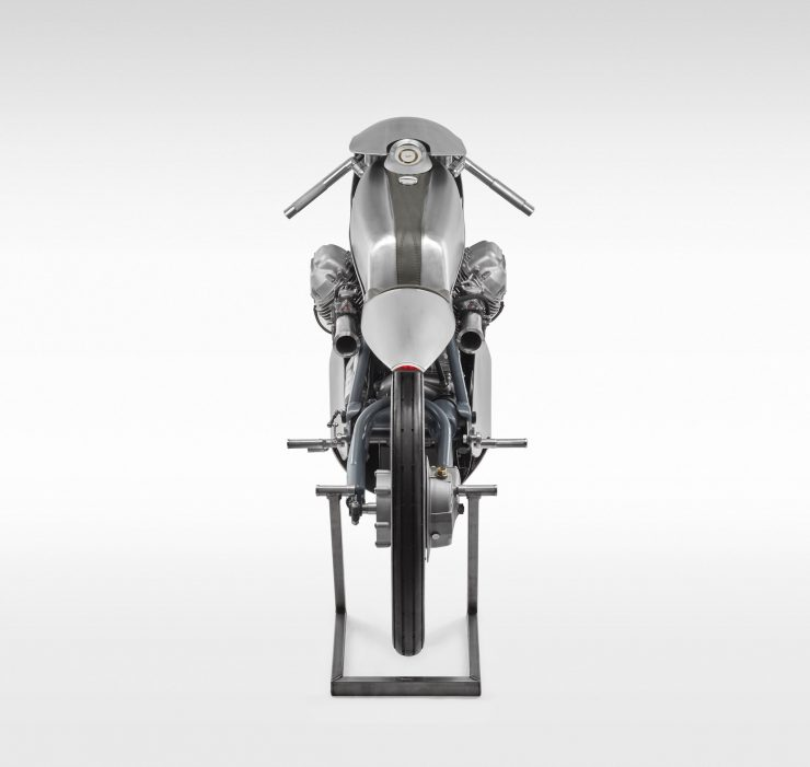 Death Machines of London Airforce Moto Guzzi Custom Motorcycle 15 740x701 - Death Machines of London Airforce Moto Guzzi