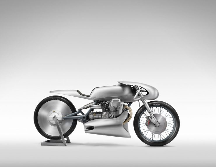 Death Machines of London Airforce Moto Guzzi Custom Motorcycle 4 740x572 - Death Machines of London Airforce Moto Guzzi