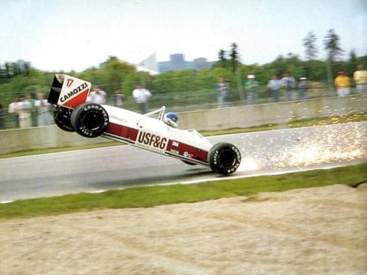 Derek Warwick canada 1988 740x554 - Documentary: Derek Warwick - Raw Racing