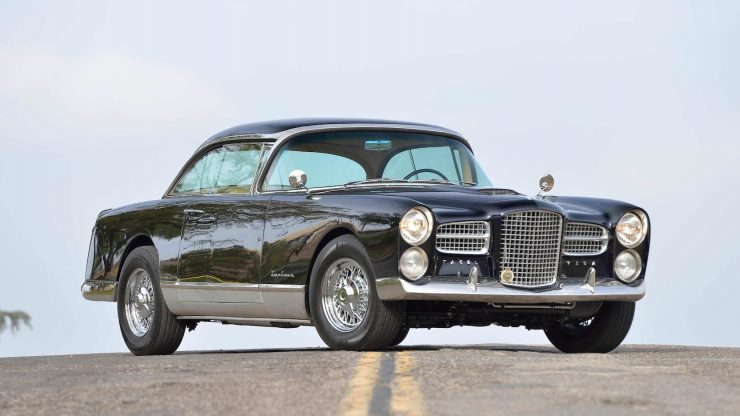 Facel Vega 740x416 - 1 of 36 Ever Made: 1958 Facel Vega FV4 Typhoon