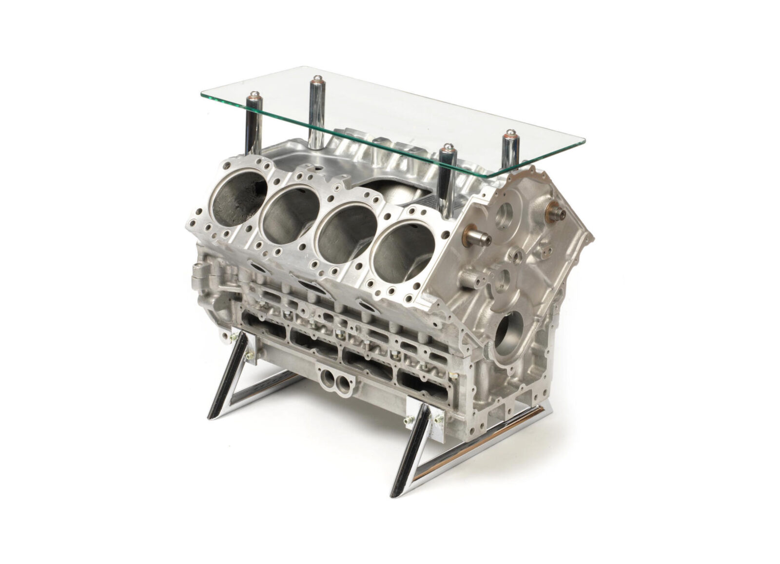Ford DFV 919 Engine Block Coffee Table 1600x1157 - McLaren Ford DFV 919 Engine Block Coffee Table