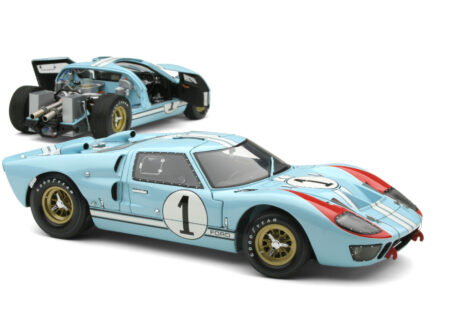 Ford GT40 Scale Model 450x330 - 1966 Le Mans Ford GT40 GMP 1:12 Scale Model