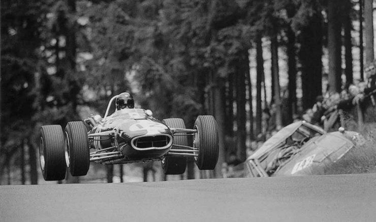 Gurney Eagle12 Nuerburgring 1966 Dan Gurney 740x438 - Documentary - Dan Gurney: Renaissance Man of Motorsports