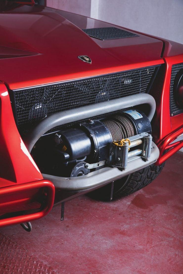 Lamborghini LM002 4x4 Car Winch