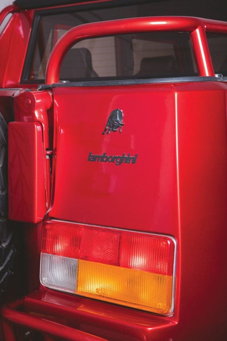 Lamborghini LM002 4x4 Car Rear