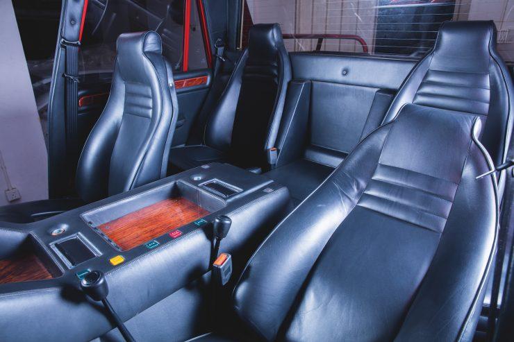 Lamborghini LM002 4x4 Car Seats