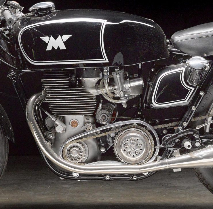 Matchless G45 1 740x725 - 1955 Matchless G45 Racer