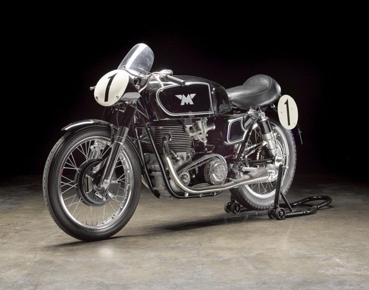 Matchless G45 3 740x581 - 1955 Matchless G45 Racer