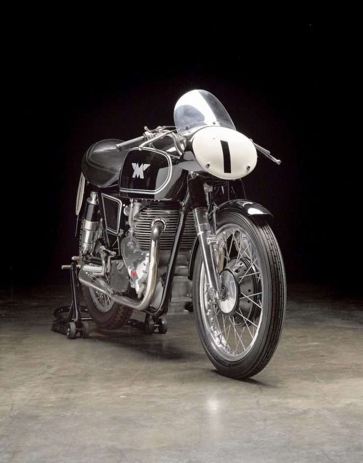 Matchless G45 4 740x943 - 1955 Matchless G45 Racer
