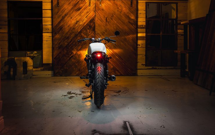 Midnight Oil Cycle Co. Honda CX500 13 740x466 - Midnight Oil Cycle Co. Honda CX500
