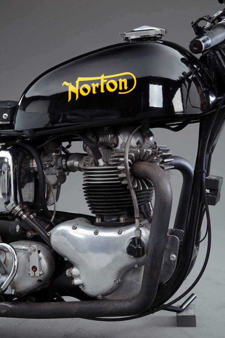 Norton Atlas Cafe Racer 4 740x1110 - 1966 Norton Atlas Cafe Racer
