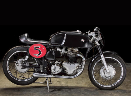 Norton Featherbed 750 Road Racing Motorcycle Photo Large 450x330 - Norton Featherbed 750 Road Racing Motorcycle Built By Sonny Angel
