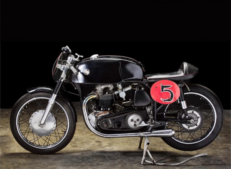 Norton Featherbed 750 Road Racing Motorcycle Picture HD 740x542 - Norton Featherbed 750 Road Racing Motorcycle Built By Sonny Angel