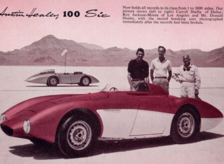 Operation Speed Bonneville Austin Healey 450x330 - Documentary: Operation Speed - 1956