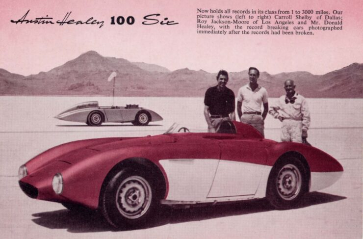 Operation Speed Bonneville Austin Healey 740x487 - Documentary: Operation Speed - 1956
