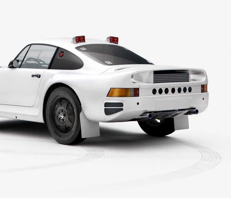 Paris Dakar Rally Porsche 959 3 740x634 - Paris-Dakar Rally Porsche 959 Plain Body Prints