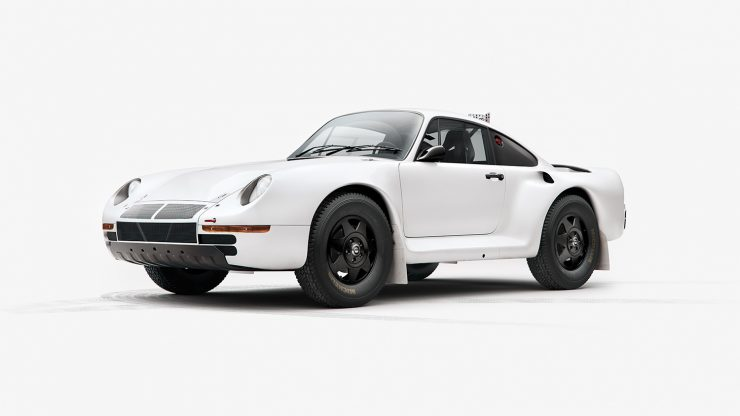 Paris Dakar Rally Porsche 959 740x416 - Paris-Dakar Rally Porsche 959 Plain Body Prints