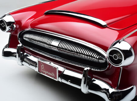 Plymouth Belmont Concept Car Grill 450x330 - 1954 Plymouth Belmont Concept Car