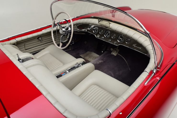 Plymouth Belmont Concept Car Interior 740x493 - 1954 Plymouth Belmont Concept Car