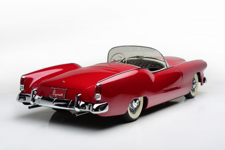 Plymouth Belmont Concept Car Rear 740x493 - 1954 Plymouth Belmont Concept Car