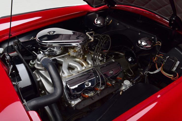Plymouth Belmont Concept Car V8 Engine 740x493 - 1954 Plymouth Belmont Concept Car