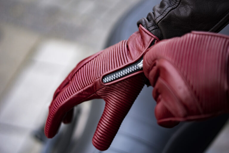 Sakura Motorcycle Gloves by 78 Motor Co.